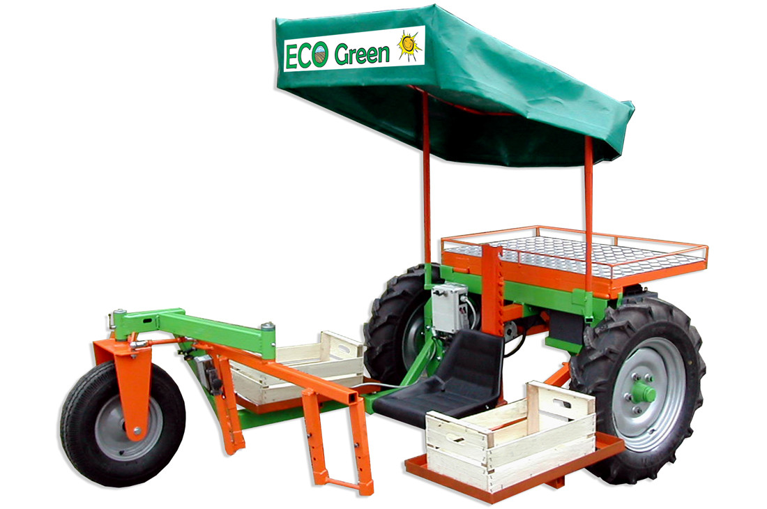 macchina raccolta asparagi verdi AV3